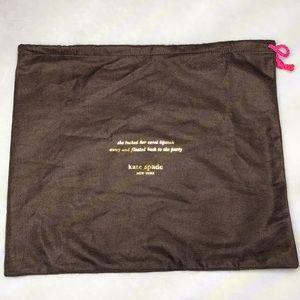 💥5/$25💥Large Kate Spade Dust Bag